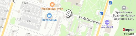 Надежный партнер на карте Миасса