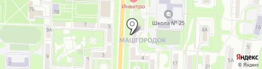 Docenko-Mebel на карте Миасса