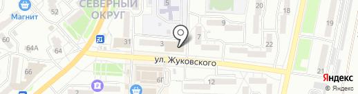 ДСМ-Строй на карте Миасса