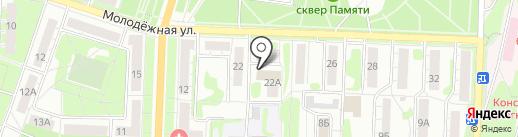 Почтовое отделение №20 на карте Миасса