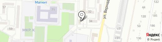 ЖЭК №3 на карте Миасса