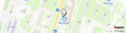 ГАЛАМАРТ на карте Миасса