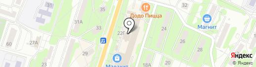 Я-Майка на карте Миасса