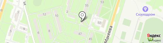 Церковная лавка на карте Миасса