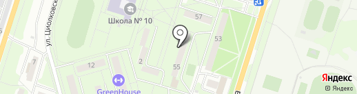 Чиполлино на карте Миасса