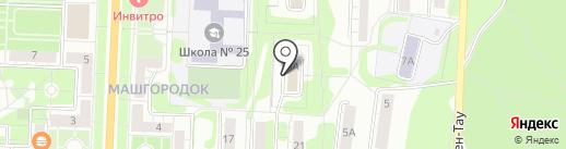 Центр эмиссии социальных карт на карте Миасса