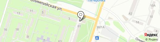 Пив-Драйв на карте Миасса