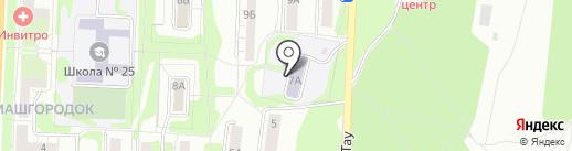 Детский сад №54 на карте Миасса