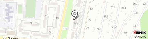 Акваком на карте Миасса
