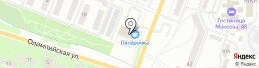 М5 на карте Миасса