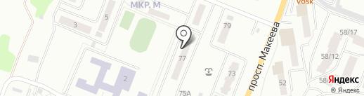 APOOL на карте Миасса