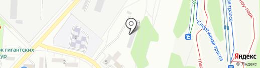 Пилот на карте Миасса