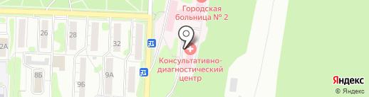 Астра-металл на карте Миасса