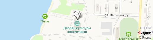 Лингволандия на карте Среднеуральска