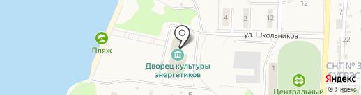 Кафе на карте Среднеуральска