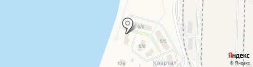 Квартал Виктория на карте Среднеуральска