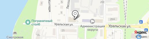 Анютка на карте Среднеуральска