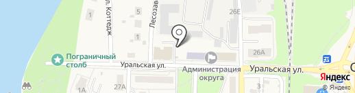 Нина на карте Среднеуральска