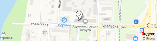 Детская школа искусств на карте Среднеуральска