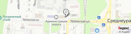 Почтовое отделение №70 на карте Среднеуральска