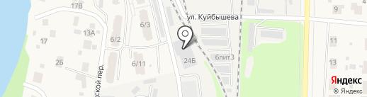 СПЕЦАВТОФУРГОН на карте Среднеуральска