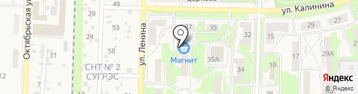 Кулинария на карте Среднеуральска
