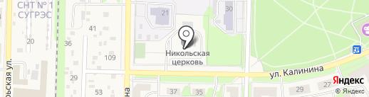 Храм во имя Святителя Николая Мир Ликийских Чудотворца на карте Среднеуральска