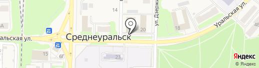 Массажный кабинет на карте Среднеуральска
