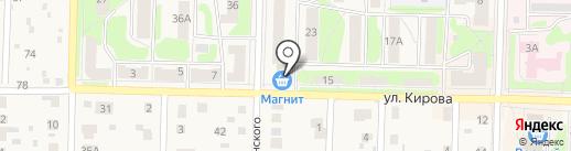ТВОЕ TV на карте Среднеуральска