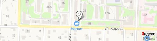Радуга на карте Среднеуральска