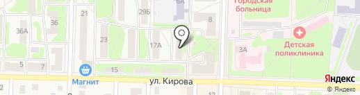 Чешский дворик на карте Среднеуральска