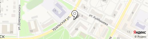 Магазин постоянных распродаж на карте Среднеуральска