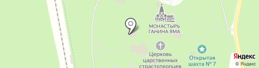 Храм во имя Преподобного Серафима Саровского на карте Екатеринбурга