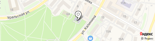 Дом детского творчества на карте Среднеуральска