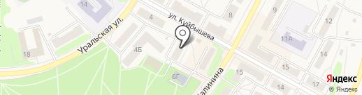Визит на карте Среднеуральска