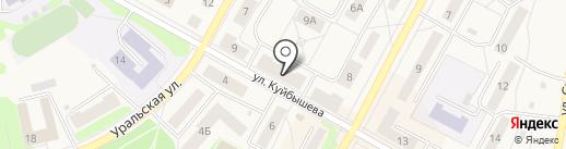 Квартет вкуса на карте Среднеуральска