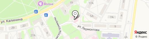 Молочный раздаточный пункт на карте Среднеуральска