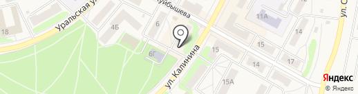 Детки на карте Среднеуральска