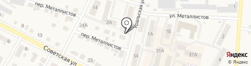 Успех на карте Среднеуральска