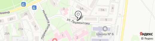 Курико на карте Среднеуральска