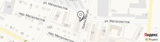 САВПРЕСС на карте Среднеуральска