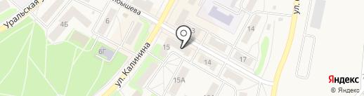 Банкомат, Уральский банк реконструкции и развития, ПАО на карте Среднеуральска