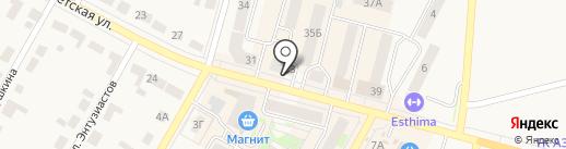 Ариант на карте Среднеуральска
