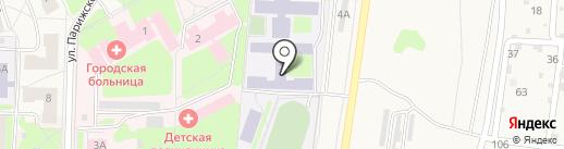 Фитнес-Плюс на карте Среднеуральска