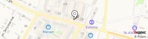 Магазин детской одежды на карте Среднеуральска