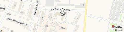 Городское хозяйство, МУП на карте Среднеуральска