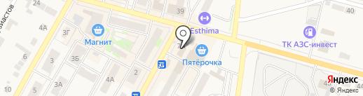 Магазин воздушных шаров на карте Среднеуральска
