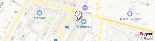 Островок на карте Среднеуральска