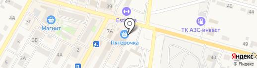 Пятёрочка на карте Среднеуральска