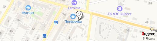 Магазин одежды на карте Среднеуральска